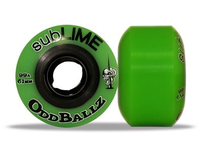 Sublime Skateboard Rollen Oddballz 61mm