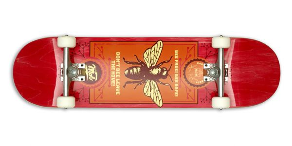 MOB Skateboards Bee Komplettboard - 8.375