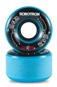 Robotron Skateboard Rollen Skeletron Cruiser 58mm