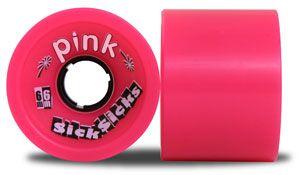 Pink Longboard Wheels SickSicks 78A 66mm