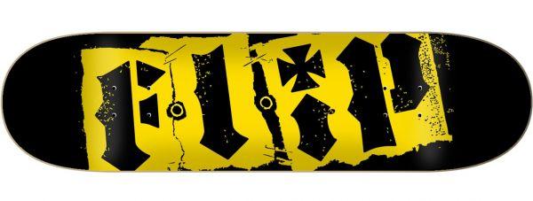 Flip Team Destroyer Black Skateboard Deck 8.25